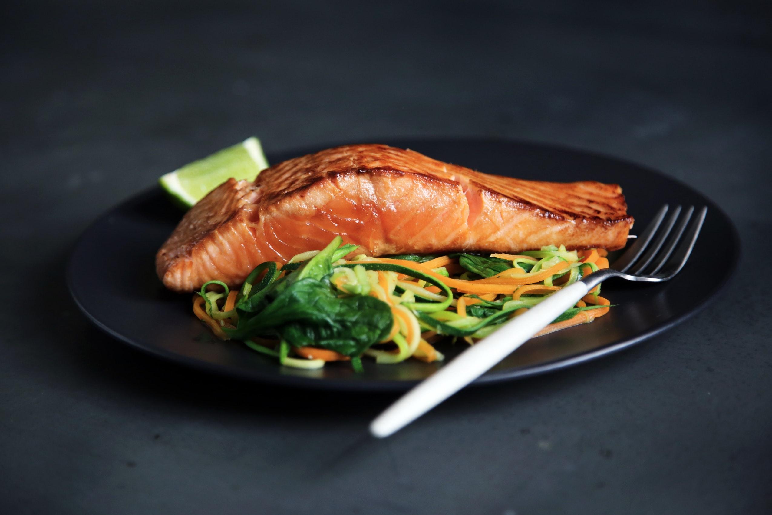 måltidskasse med fisk
