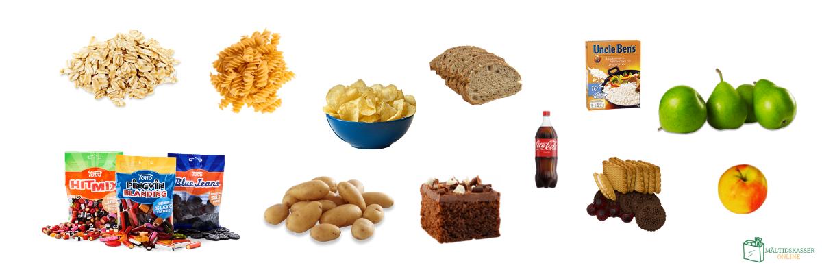 LCHF undgå mad