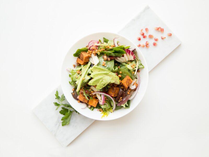 LCHF salat