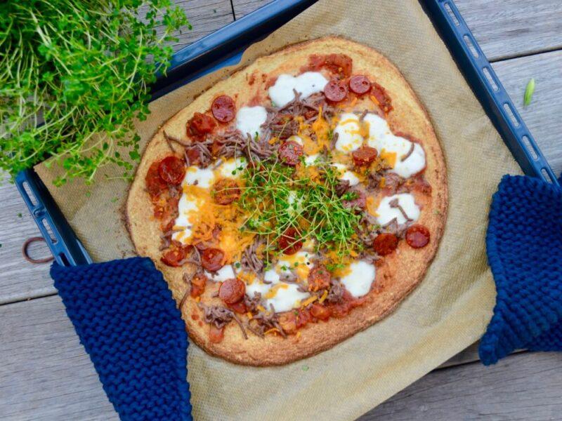 Blomskålspizza - low carb