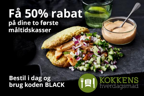 Kokkens Hverdagsmad black friday